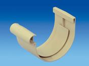 Jonction à coller pour gouttière PVC de 16 coloris sable - Tube de descente prémanchonné PVC pour eaux pluviales diam.80mm long.2m coloris sable - Gedimat.fr