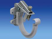 Crochet à pince pour gouttière PVC de 16 coloris gris clair - Clé mixte MAXI DRIVE PLUS 13mm - Gedimat.fr