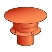 Chapeau aspirateur diam.180 finition brun cuivre - Sorties de toit - Couverture & Bardage - GEDIMAT