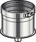 Cône d'écoulement CONDENSOR Inox diam.180mm - Tubages rigides - Couverture & Bardage - GEDIMAT