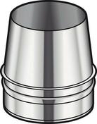 Cône de finition CONDENSOR Inox diam.180mm - Tubages rigides - Chauffage & Traitement de l'air - GEDIMAT