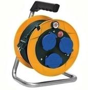 Enrouleur prolongateur BABY PRO IP44 avec câble 10m HO7 RN-F 3G1,5 et disjoncteur thermique - Rallonges - Enrouleurs - Electricité & Eclairage - GEDIMAT