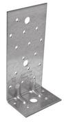 Equerre renforcée E14 acier galvanisé 50x80mm larg.75mm ép.2,5mm - Fenêtre bois exotique lamellé collé sans aboutage isolation totale 120mm 1 vantail ouvrant à la française vitrage transparent gauche tirant haut.1,05m larg.60cm, - Gedimat.fr