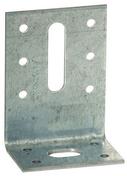 Equerre d'assemblage acier galvanisé 40x80mm larg.40mm ép.2mm - Poutre VULCAIN section 12x35 long.4,00m pour portée utile de 3.1 à 3.60m - Gedimat.fr