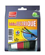Adhésif pour isolation électrique larg.15mm long.5m lot de 4 rouleaux de différentes coloris - Raccord 3 branches TBF coloris noir graphite - Gedimat.fr