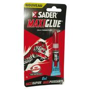 Glue formule gel Maxiglue tube 3g - Colles - Adhésifs - Quincaillerie - GEDIMAT