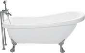 Mitigeur thermostatique sur colonne BRIGHTON laiton chromé - Bains-douches - Salle de Bains & Sanitaire - GEDIMAT