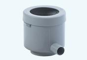 Collecteur d'eau de pluie filtrant Eco de luxe - Gris - Panneau de Particule Surfacé Mélaminé (PPSM) ép.16mm larg.2,07m long.2,80m Blanc Antik finition Satiné mat - Gedimat.fr