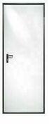 Porte de service Coupe-Feu 30mn réversible haut.2,025m larg.90cm - Bloc porte plane prépeint âme pleine huisserie Néolys 74x49mm larg.83 cm gauche poussant - Gedimat.fr