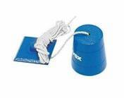 Plomb de maçon avec ficelle cordon poids 1kg - Taloche pointue en ABS 18x27cm - Gedimat.fr