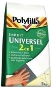 Enduit universel 2 en 1 POLYFILLA en poudre 5kg - Carrelage pour sol intérieur en grès cérame émaillé ESTATE dim.60X60cm coloris gris - Gedimat.fr
