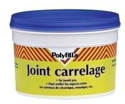 Joint carrelage blanc POLYFILLA 300g - Carrelage pour sol en grès cérame pleine masse DOTTI dim.30x30cm coloris dark grey - Gedimat.fr