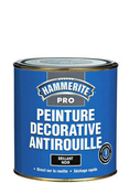 Peinture décorative antirouille CORONA HAMMERITE PRO aspect brillant coloris noir 1L - Poutre en béton précontrainte PSS LEADER section 20x20cm long.4,40m - Gedimat.fr