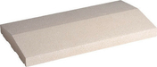 Chaperon de muret 2 pentes long.50cm larg.27,5cm ép.5,5cm coloris blanc - Poutrelle treillis Hybride RAID Long.béton 4.30m portée libre 4.25m - Gedimat.fr
