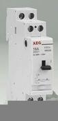 Télérupteur modulaire monopolaire AEG 16A 220V 1 contact NO - Radiateur sèche serviettes Goreli Blanc 750 W  - Gedimat.fr