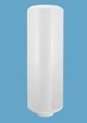 Chauffe-eau blindé mural vertical BASIC 100L blanc - Radiateur à fluide caloporteur Bachata Horizontal 1500W haut.58,7cm larg.83,7cm prof.14,5cm - Gedimat.fr