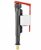 Ensemble mécanisme de chasse à tirette blanc et robinet à levier - Flexible de douche grohe long.1,50 m gaine plastique - Gedimat.fr