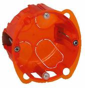 Boîte d'encastrement électrique LEGRAND BATIBOX multimatériaux 1 poste diam.67mm prof.40mm - Panneau lamellé-collé qualité B ép.27mm larg.1,21m long.5m - Gedimat.fr