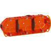 Boîte d'encastrement électrique LEGRAND BATIBOX multimatériaux 3 postes diam.40mm prof.40mm - Modulaires - Boîtes - Electricité & Eclairage - GEDIMAT
