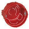 Boîte d'encastrement électrique pour maçonnerie LEGRAND BATIBOX ronde 1 poste diam.65mm prof.30/40mm - Plinthe pour sol intérieur COMPAKT larg.8cm long.60cm coloris marengo - Gedimat.fr