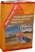 Mortier-colle SIKACERAM 205 sac 25kg gris - Accessoires et Equipements - Aménagements extérieurs - GEDIMAT