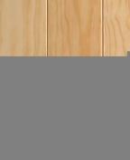 Lambris pin des Landes massif SEDUCTION VERNI sans noeud + petits noeuds ép.10mm larg.90mm long.2,00m - Interrupteur va et vient encastré mono référence commande simple Ovalis blanc - Gedimat.fr