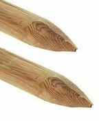Piquet frais� �point� diam.6cm long.1,50m pin - Appui de fen�tre teinte naturelle long.3,00m larg.28cm - Gedimat.fr