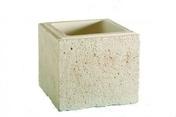 Chapeau pour pilier en pierre reconstitu�e VALANCAY dim.+/-53x+/-53cm coloris naturel - Piliers - Murets - Am�nagements ext�rieurs - GEDIMAT