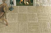Caillebotis aspect bois azores - Plaque de plâtre haute dureté BA13 KNAUF KHD ép.12,5mm larg.1,20m long.2,60m - Gedimat.fr