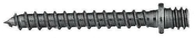 Patte à vis acier filet bois diam.7mm long.50mm en boîte de 100 pièces - Naissance droite en zinc naturel pour gouttière demi-ronde de 33 avec boudin de 18 mm - Gedimat.fr
