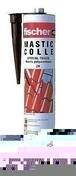 Colle mastic polyuréthane mono-composant spéciale tuiles ZK cartouche 310ml coloris terre cuite - Colles - Adhésifs - Peinture & Droguerie - GEDIMAT
