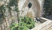 Fontaine-bassin HADRIEN en pierre reconstituée coloris Gironde - Fontaines - Puits - Plein air & Loisirs - GEDIMAT