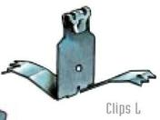 Clips XXL pour maintien des couvre-joints TOFFOLO de dilatation dont la largeur initiale est comprise entre 35 et 50mm - Aciers - Ferraillages - Matériaux & Construction - GEDIMAT