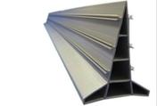Rêgle joint-guide modèle 80R renforcé PVC Gris pour dallage béton de 12 à 30cm pour rêgle vidrante lourde haut.8cm long.5m - Treillis soudé ST20 maille 15x30cm, fil de 6 et 7 mm long 6m larg.2,40m - Gedimat.fr