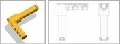 Poignée de fermeture pour coffrage geotube Toffolo - Aciers - Ferraillages - Matériaux & Construction - GEDIMAT