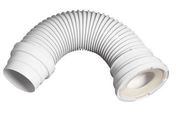 Pipe extensible à armature métalique pour raccordement WC - Lave-mains ELFE IDEAL STANDARD en porcelaine larg.23,5cm long.50cm blanc - Gedimat.fr