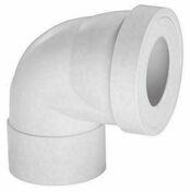 Pipe rigide courte coudée femelle pour raccod WC - Evacuation de WC - Salle de Bains & Sanitaire - GEDIMAT