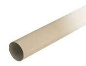 Tube de descente lisse PVC NICOLL pour eaux pluviales diam.80mm long.3m sable - Vitrage armé prédécoupé pour marquise fer Beaumont - Gedimat.fr