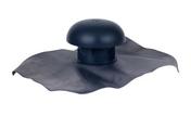 Chapeau de ventilation avec collerette d'étanchéité avec moustiquaire NICOLL pour tuyau PVC diam.120mm coloris ardoise - Accessoires de fixation - Couverture & Bardage - GEDIMAT