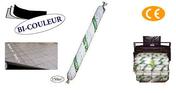 Film polyéthylène DALL PLUS COEX bi-couleur 160 microns rouleau larg.6m long.25m soit 150m² - Bombe de peinture COLOR PLATINIUM 400ml noir profond - Gedimat.fr