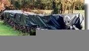 Film polyéthylène noir standard 150 microns rouleau larg.6m long.56m - Protections des chantiers - Outillage - GEDIMAT