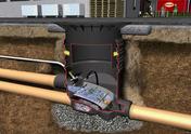 Filtre externe OPTIMAX avec réhausse et couvercle en fonte pour circulation véhicules jusque 2,2 T diam.85cm - Récupération d'eau de pluie - Couverture & Bardage - GEDIMAT