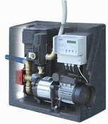 Centrale de gestion d'eau AQUA CENTER SILENSIO avec pompe SUPERINOX 25/4 - Arrosages enterrés - Aménagements extérieurs - GEDIMAT
