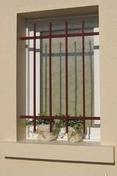 Grille de défense à repeindre MISTRAL haut.1,05m larg.1,20m - Fenêtre PVC blanc CALINA isolation totale de 120 mm 2 vantaux oscillo-battant haut.75cm larg.1,00m - Gedimat.fr
