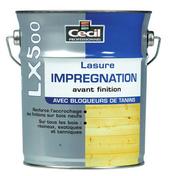 Lasure d'imprégnation bois LX500 pot de 1L satinée chêne clair - Faîtière ventilation TBF coloris ton cévenol - Gedimat.fr