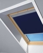 Store d'occultation optimale bleu DKL UK08 1100S - Raccord pour fenêtre VELUX sur tuiles plates EDP UK08 type 0000 pose traditionnelle - Gedimat.fr