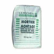 Mortier de montage pour brique de verre sac de 25kg - Brosse fil d'acier ondulé laitonné - Gedimat.fr