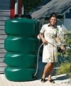 Réservoir de récupération d'eau de pluie cubique 1000 L - Bois Massif Abouté (BMA) Sapin/Epicéa traitement Classe 2 section 80x240 long.5m - Gedimat.fr