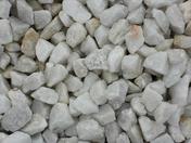 Gravillons calcaire blanc sac de 25kg - Sables - Graviers - Galets décoratifs - Revêtement Sols & Murs - GEDIMAT