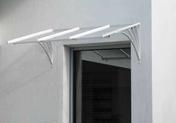 """Couverture Altuglass pour marquises fer - Plaquette de parement FANTASIA format """"Z"""" dim.15 x 55-60 x 1-2 cm ardoise - Gedimat.fr"""